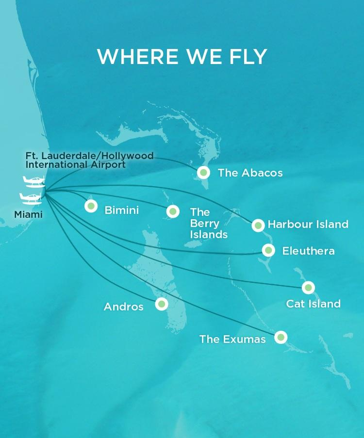 Where We Fly - Map of Flight Destinations