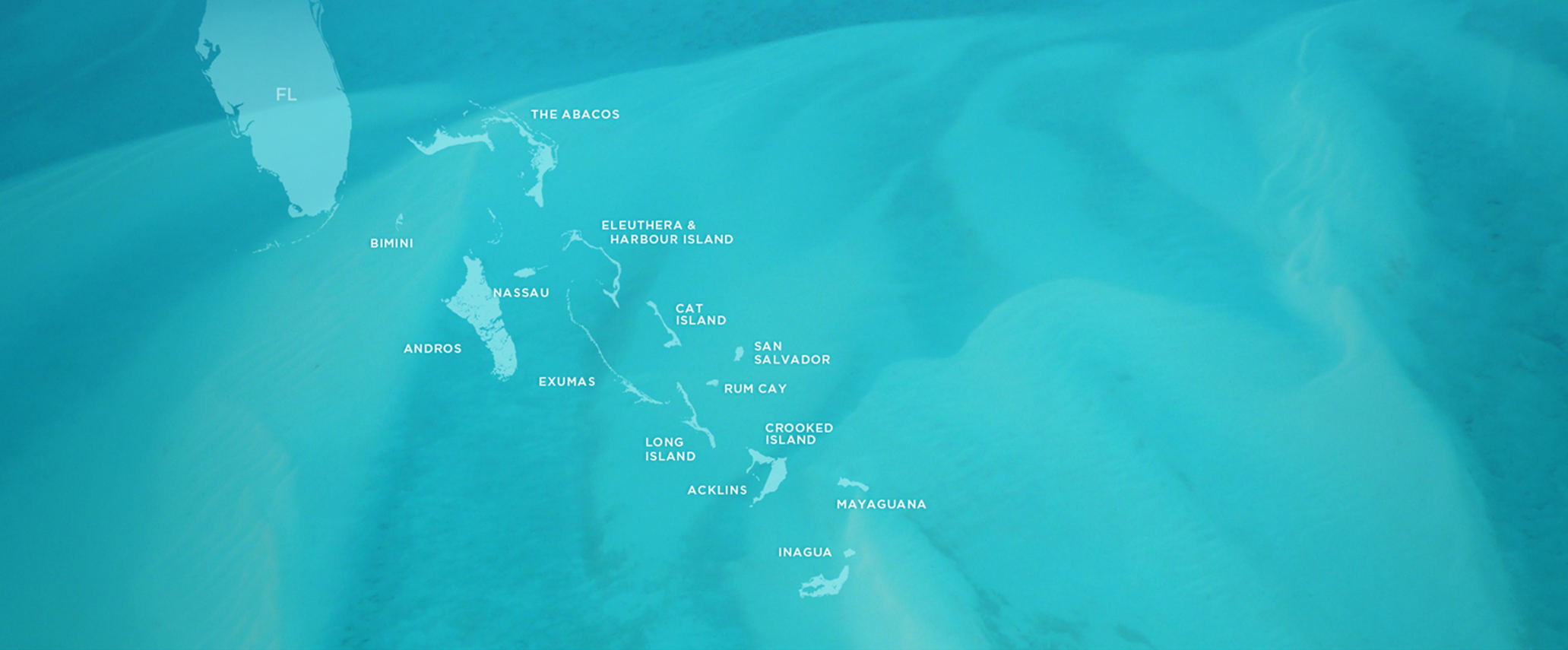 Map of Out Islands