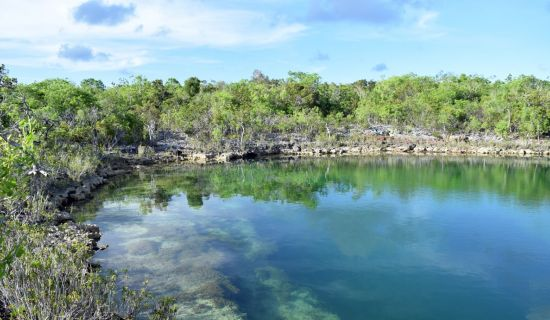 Blog | Explore folklore at this off-road blue hole in South Cat Island | MYOUTISLANDS.COM