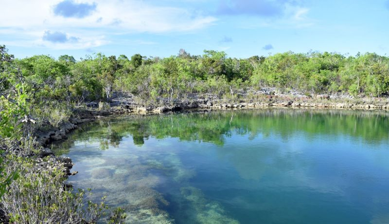 Blog | Explore folklore at this off-road blue hole in South Cat Island | caribbeantravel.com