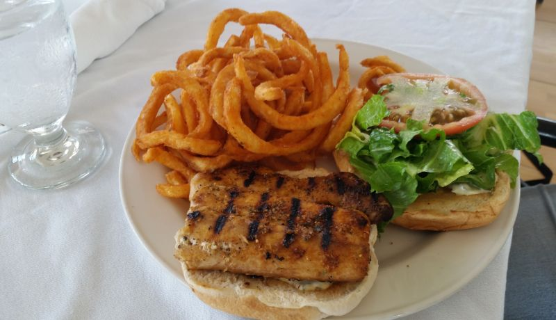 Blog   Seafood is the star of a juicy Bahamian burger   caribbeantravel.com